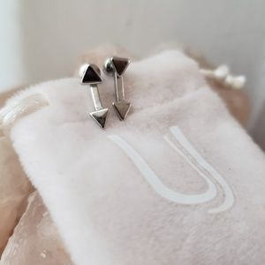 Uncommon James Silver Cupid Earrings
